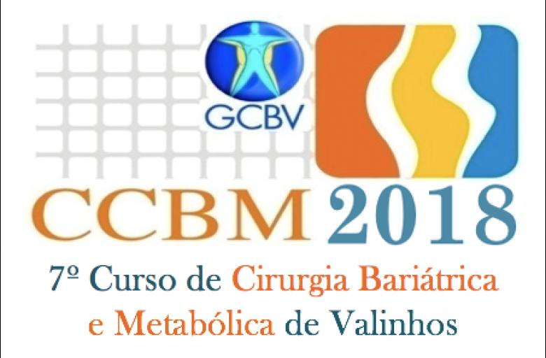 Confira a programação do Curso de Cirurgia Bariátrica e Metabólica CCBM 2018, com a equipe GCBV