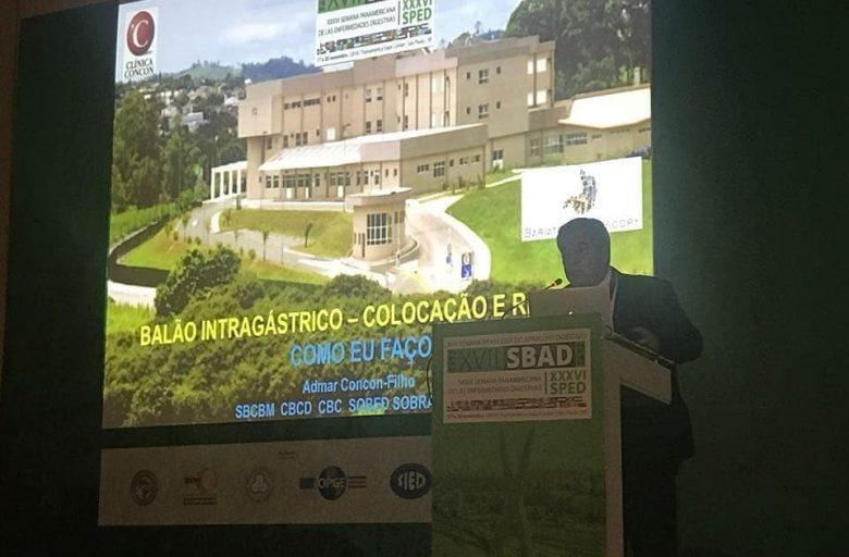 GCBV / Clínica Concon marca presença na SBAD/ SPED 2018