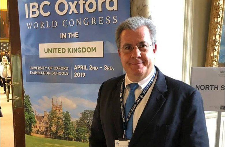 """Dr Admar Concon Filho participa como convidado do """"IBC Oxford World Congress"""", em Londres"""