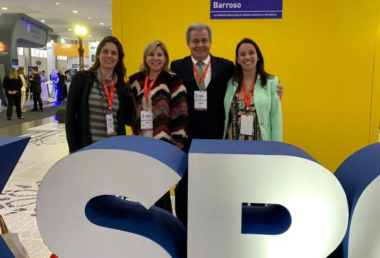 Equipe GCBV esteve presente no XX Congresso Brasileiro de Cirurgia Bariátrica e Metabólica