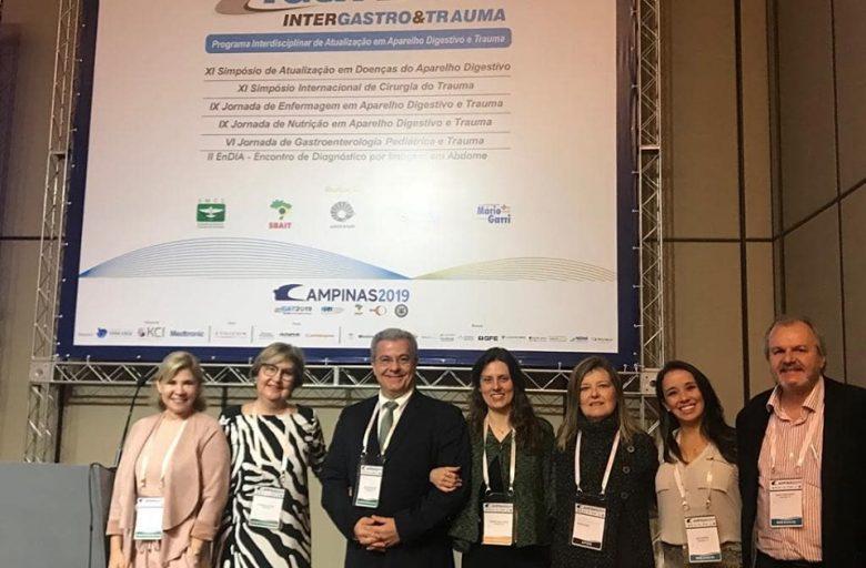 Equipe GCBV participa do Intergastro & Trauma, em Campinas